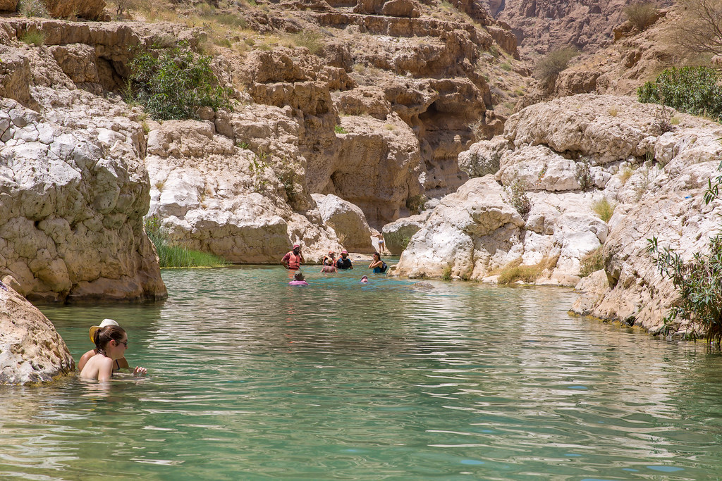 Oman. Wadi Shab