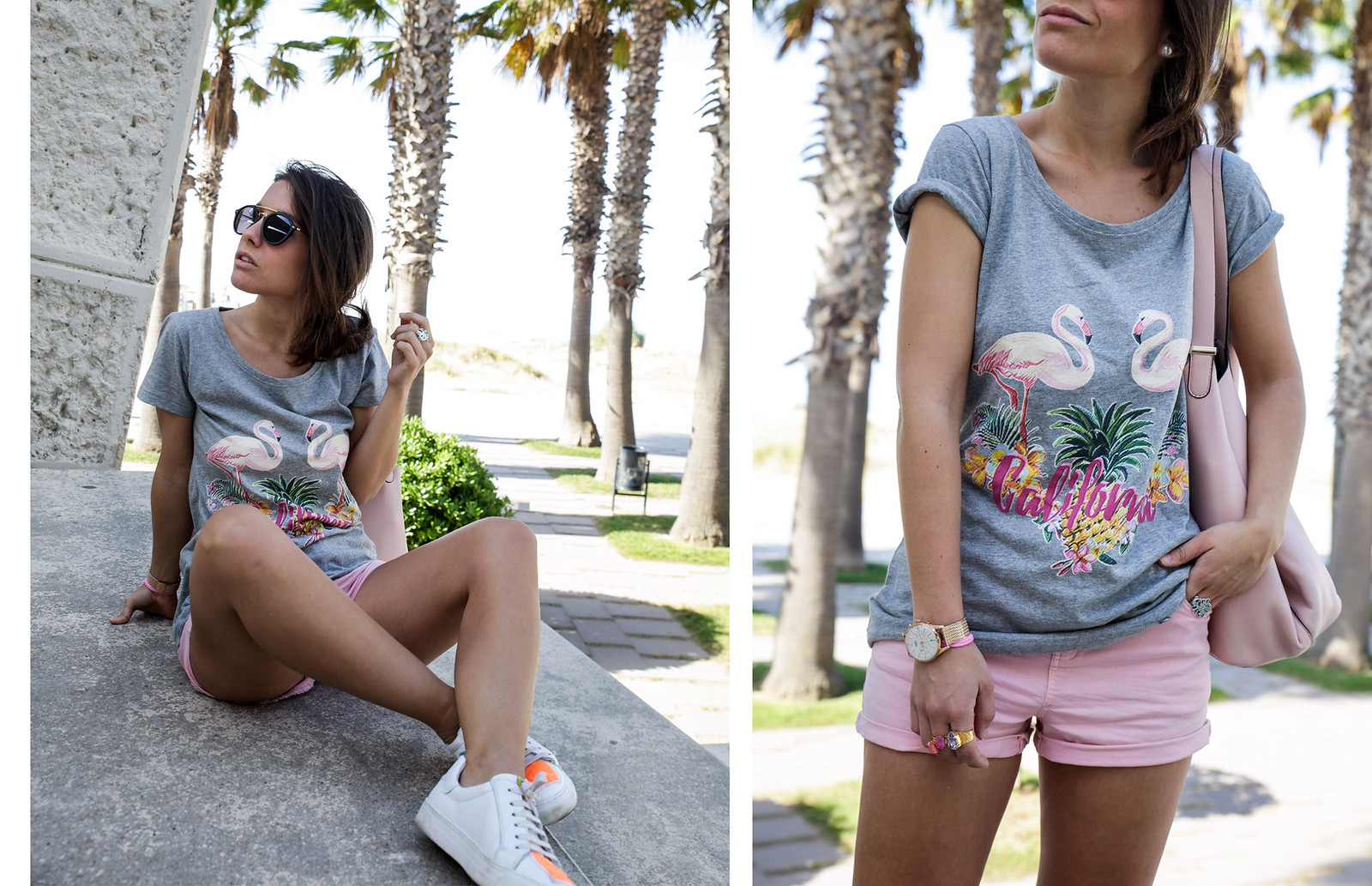 03_California_girl_rüga_shirt_flamingos_theguestgirl_LA_Barcelona_beach