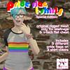 [DH] Pride tees! For Maitreya+V-tech chest!