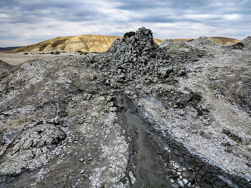 Mud Volcanoes Azerbaijan