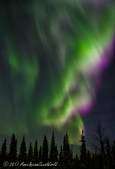 Aurora Borealis in full color