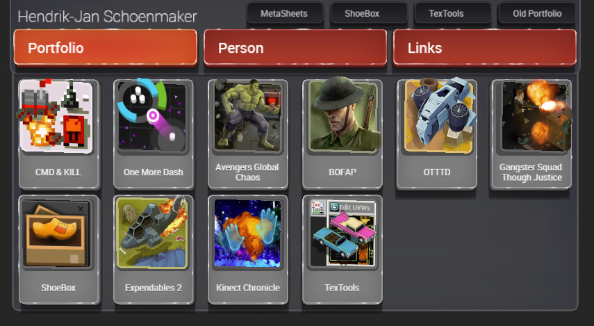 Away3D] [HTML5] 3D website portfolio: renderhjs.net - Showcase ...