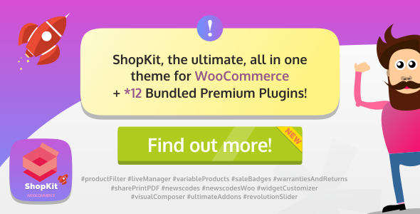 ShopKit v1.2.0 – The WooCommerce Theme