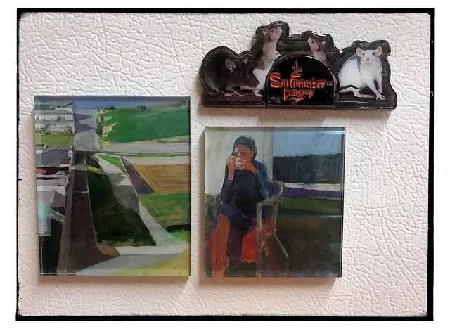 New refrigerator magnets. #diebenkorn