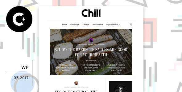 Chill WordPress Theme free download