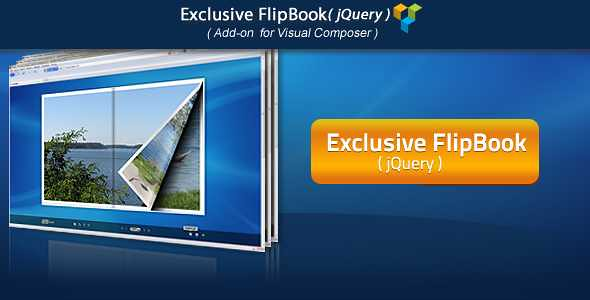 Exclusive jQuery FlipBook WordPress Plugin free download