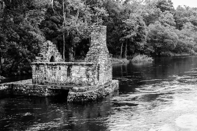 Ireland - Cong - Abbey - Fishing hut