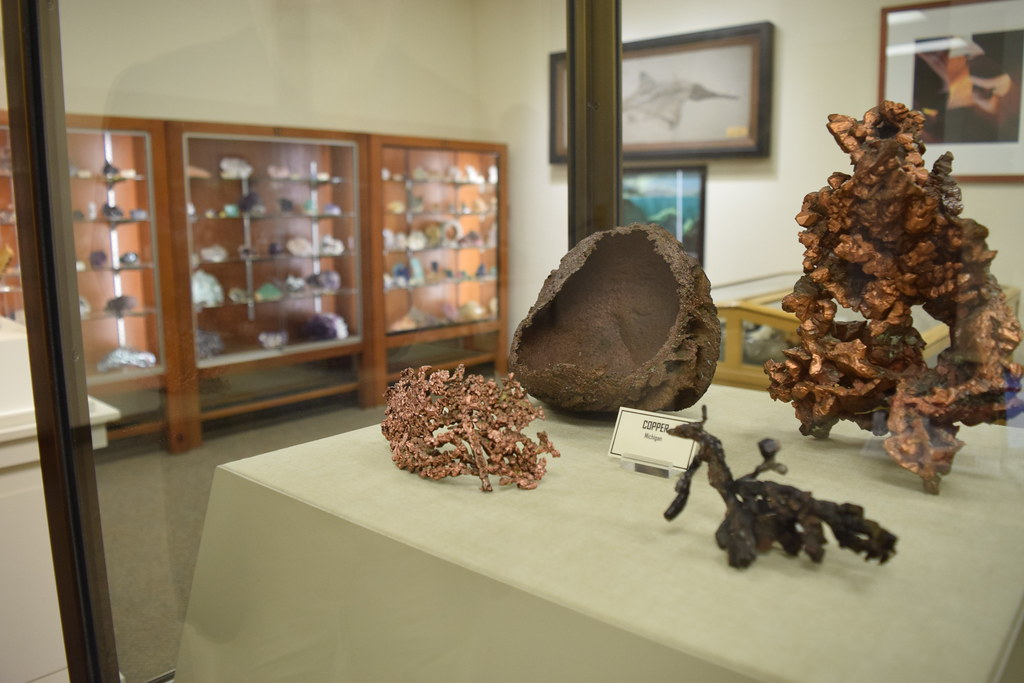 Detroit's first Geology Mineral Museum