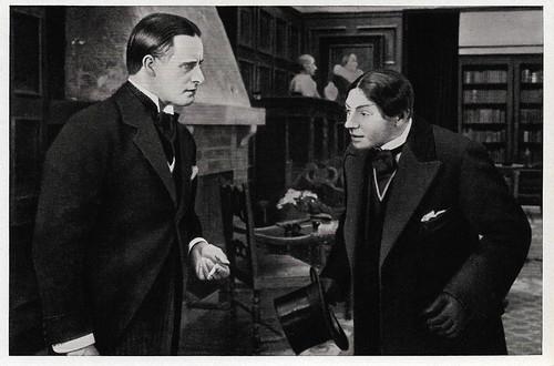 Carl Auen in Der heulende Wolf (1919)