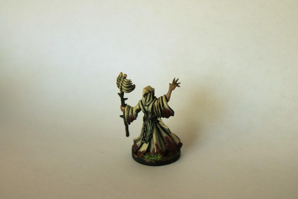 Runewars Miniatures Waiqar Necromancer Back
