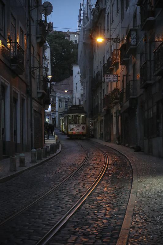 Lisbon Street - Evening