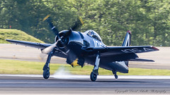 Grumann F8F-2 Bearcat recovery