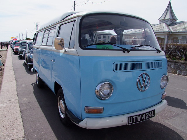 112 1972 Volkswagen camper, Fujifilm FinePix S100FS