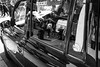 Refective Taxi (B&W)_
