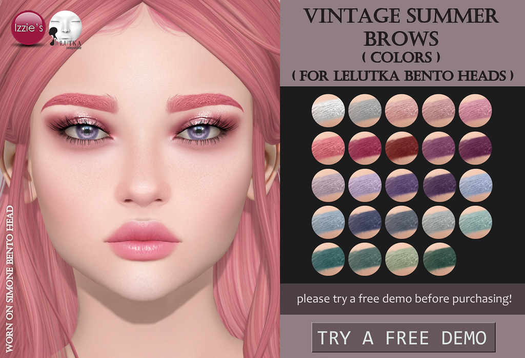 Vintage Summer Brows - SecondLifeHub.com