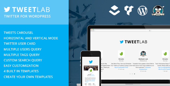 Tweetlab v2.0.2 - Twitter slider & Usercard for WordPress