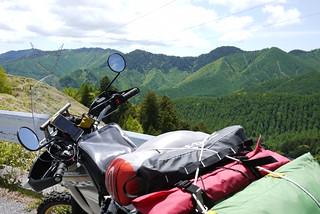 木曽の山中