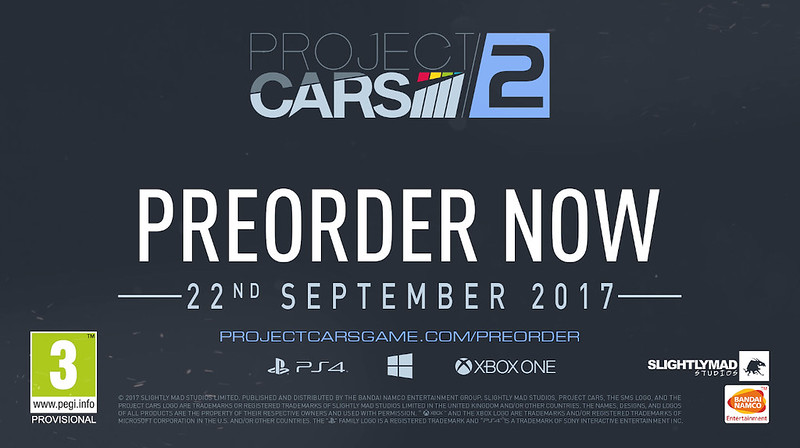 Project CARS 2 Date