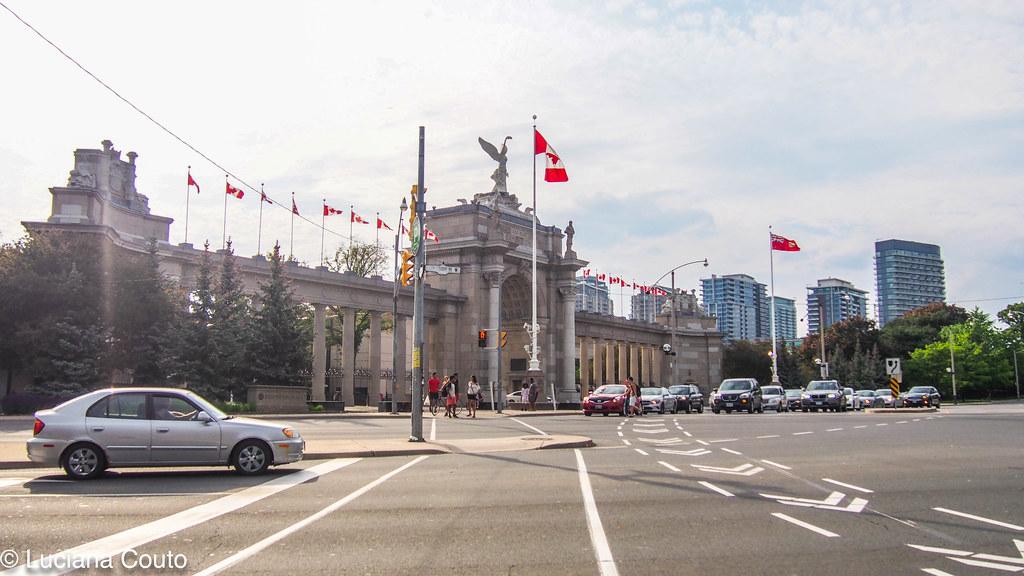 Warm Day at Toronto