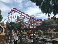 Silver Bullet and Log Ride