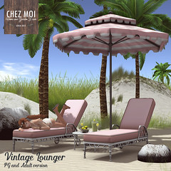 Vintage Lounger Set CHEZ MOI