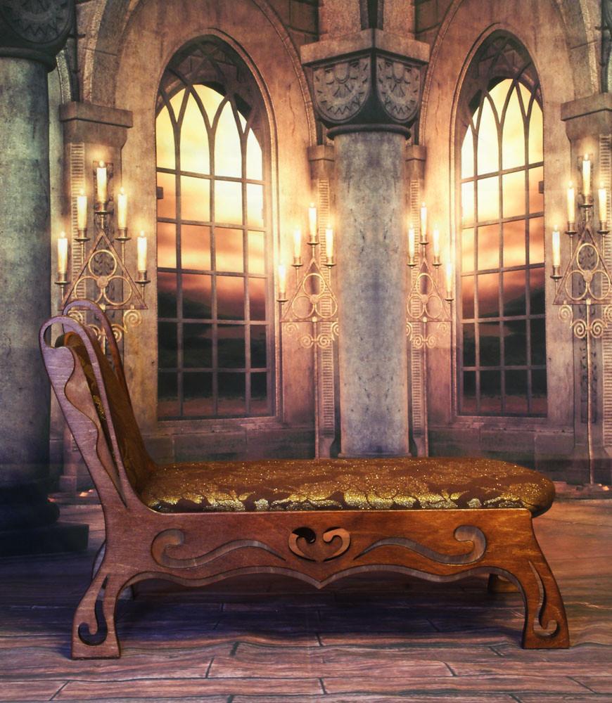 Sofa Art Nouveau m04