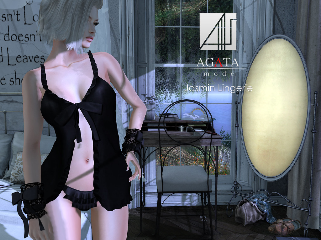 Jasmin Lingerie @ On9 - SecondLifeHub.com