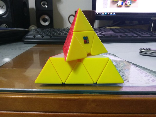 魔方教室 金字塔魔方 正容錯