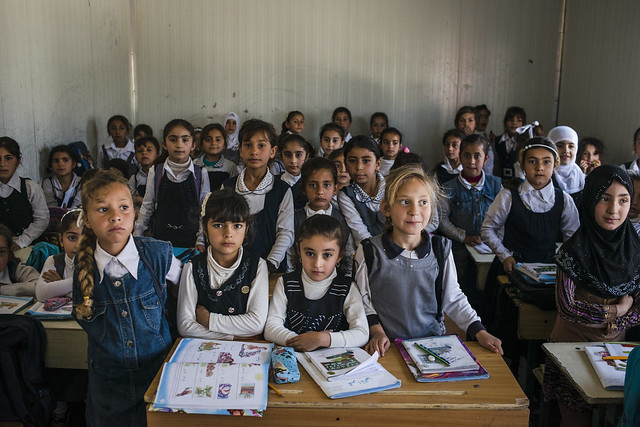 undp development eastmosul infrastructure iraq mosul schools students unitednations ninewa irq