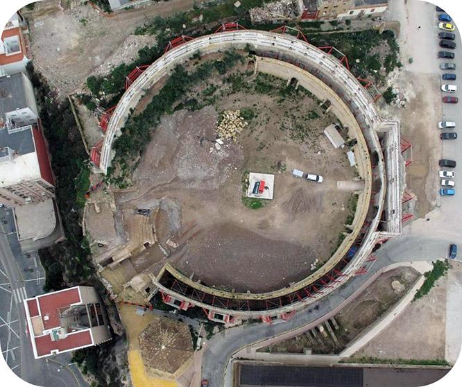 El proyecto de recuperación del Anfiteatro encara el inicio efectivo de los trabajos