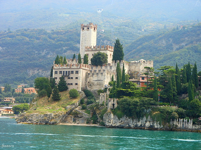 Malcesine, Castle - Lake Garda