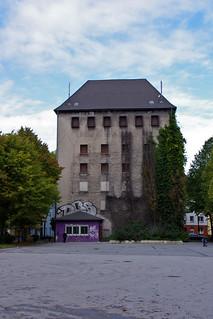 Erinnerung an eine dunkele Zeit. A building from a dark time of Europe. (1933-1945)