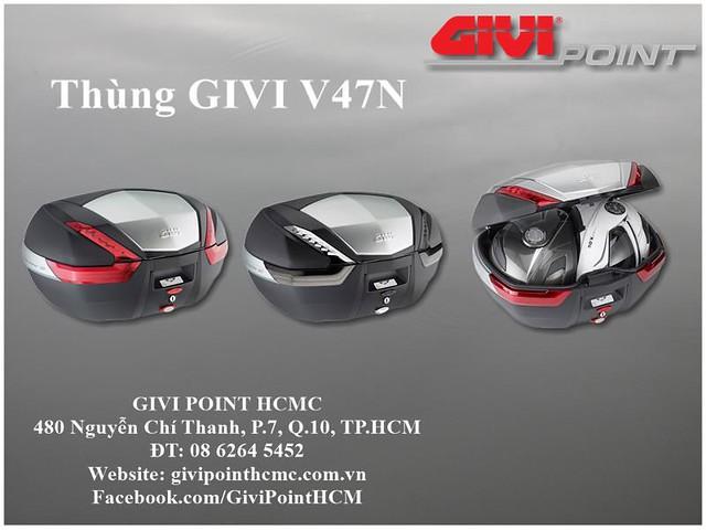 Thung xe Givi - 28
