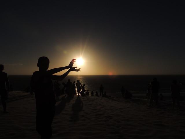 Duna do Pôr do Sol - Jericoacoara - Ceará - Brasil
