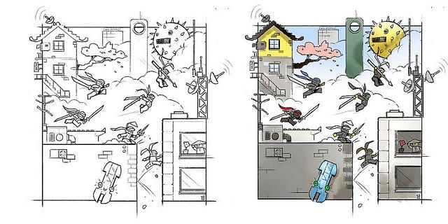 超級華麗的東洋大都市!!LEGO 70620 旋風忍者電影系列【旋風忍者城】NINJAGO City 巨獸等級的史上第三大盒組、設計草圖公開!!