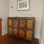 Tibetan cabinet upstairs