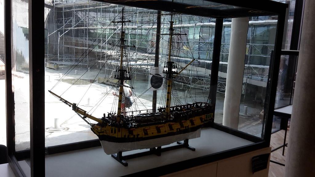HMS Ontario på M/S Museet for Søfart  Bagbord