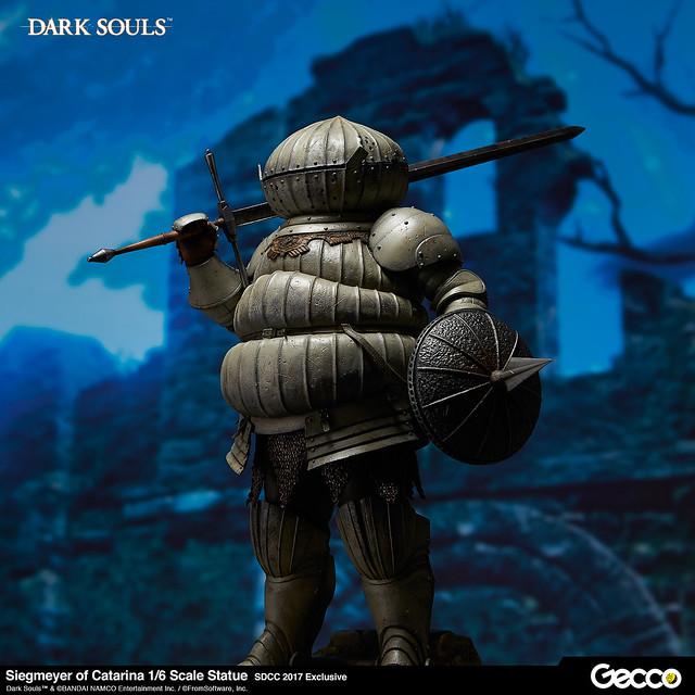 Gecco《黑暗靈魂》「洋蔥騎士」卡塔利納的傑克麥雅(カタリナのジークマイヤー)1/6比例雕像【SDCC2017限定】