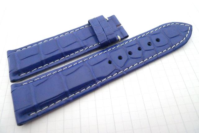 22.20 115.75 Blu Elettrico LVMH w Ivory Stitches 5.5-2.8