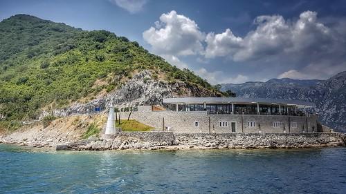 sea landscape travel montenegro