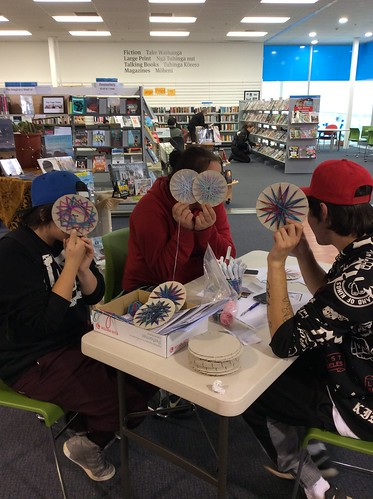 Matariki Toi - Community Art Project in the Library