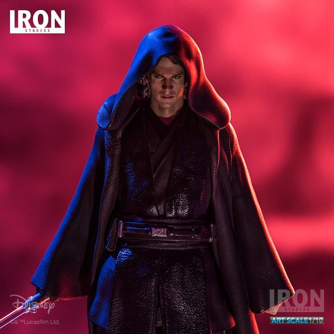 墜入黑暗深淵的預言之子!!Iron Studios 星際大戰【安納金·天行者】Anakin Skywalker 1/10 比例全身雕像作品