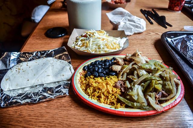 Pecos Bill fajita platter