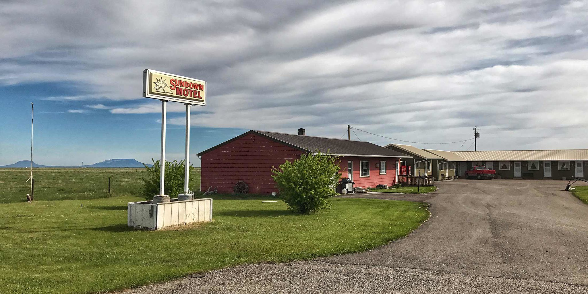 Motel located on US-87 in Stanford, MT 59479