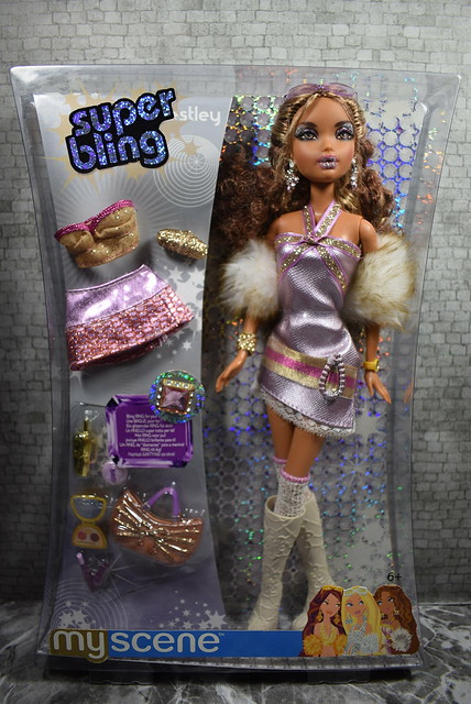 2005 Barbie My Scene Super Bling Westley J1039 (2)
