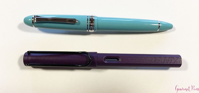 Review Sailor 1911 Large Fresca Fountain Pen - Music Nib @PenChalet 3