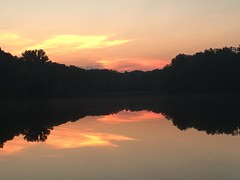 Greenbelt Lake early morning