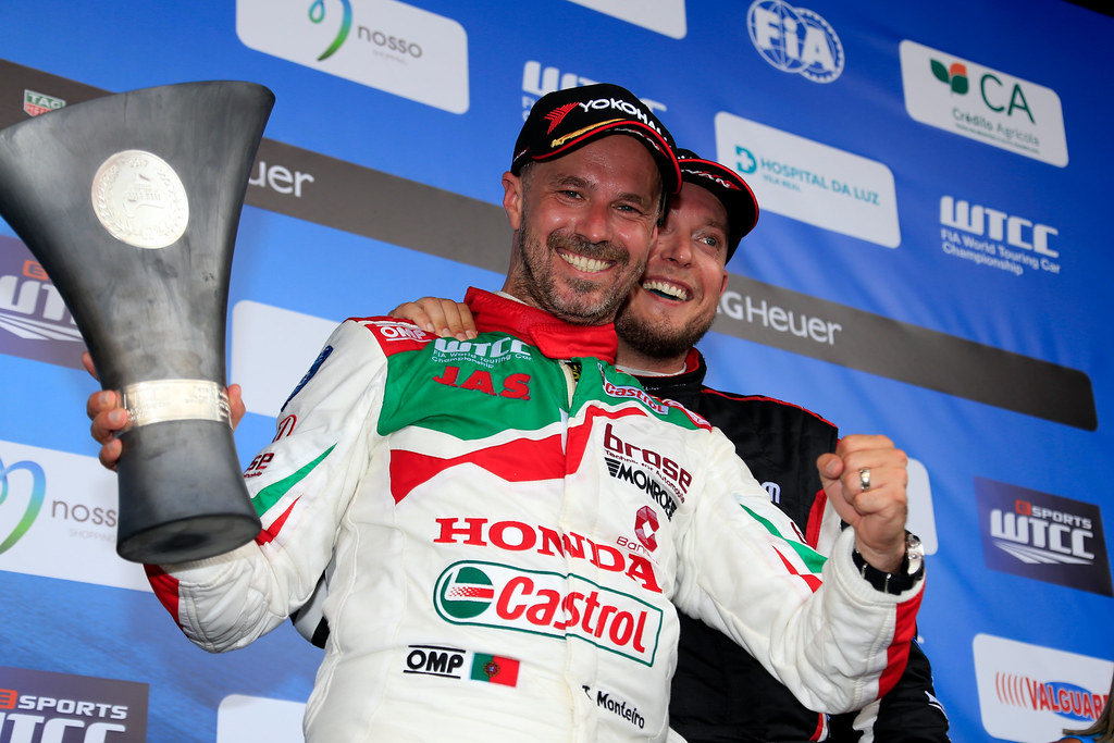 MONTEIRO Tiago (prt) Honda Civic team Castrol Honda WTC ambiance portrait HUFF Rob (gbr) Citroen C-Elysée team ALL-INKL.COM Munnich Motorsport ambiance portrait during the 2017 FIA WTCC World Touring Car Championship race of Portugal, Vila Real from june 23 to 25 - Photo Paulo Maria / DPPI