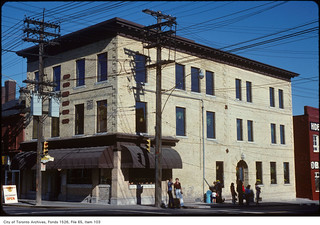 Grand Central Hotel, south-east corner, Sherbourne Street and King Street East
