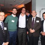 Mauricio guglielmetti, Labbé Abogados; Rodrigo Vicuña, Boston Consulting Group; Enrique Bone, BanChile; Hugh Rudnick, Universidad Católica; Matías Cura